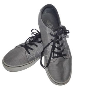 Vans Shoes Gray Canvas TB4R Off The Wall